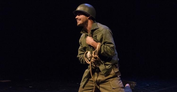 Escena de una obra de teatro. Ministerio de Cultura de la Nación Argentina (Flickr)