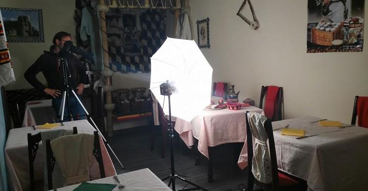 Sesión de fotos. Gonder, Facebook