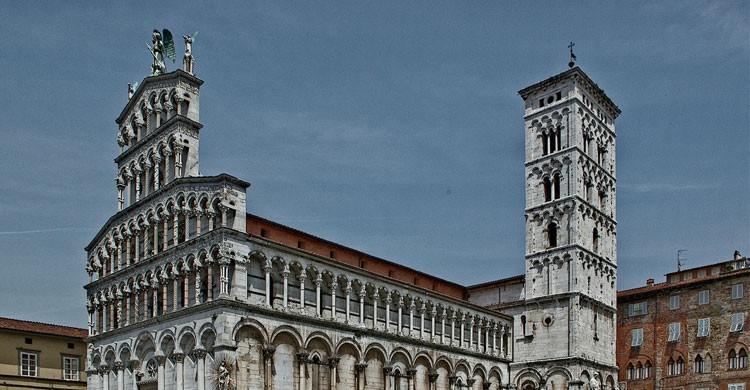 Catedral de San Martín (Duomo) de Lucca, Italia (Flickr)
