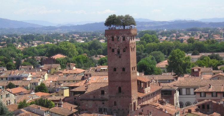 Palacio de Guinigi en Lucca, Italia (Flickr)