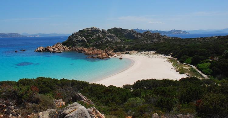 Imagen de la exclusiva playa de Spiaggie Rosa. luca giudicatti (Flickr)