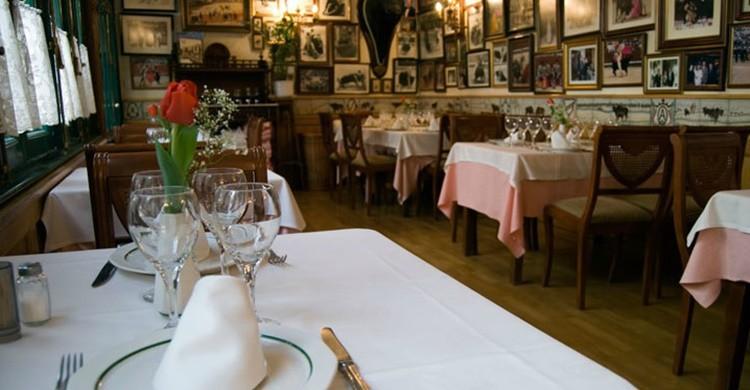 Comedor de Los Toreros en el Café de la Iberia. (www.cafedelaiberia.com)