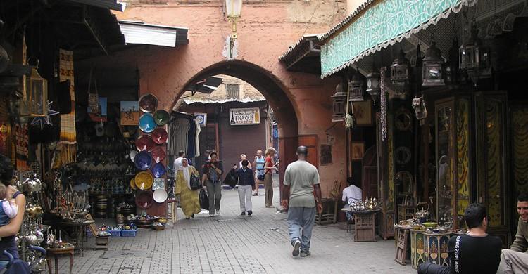 Calle de Marrakech. Francisco Restivo (Flickr)