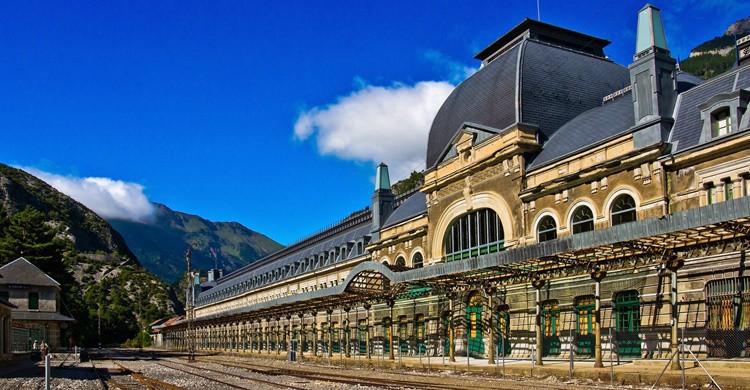 Estación de Canfranc. Guillén Pérez (Flickr)