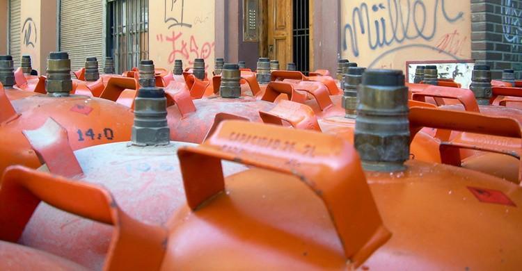 Bombonas de butano. Srgpicker (Flickr)