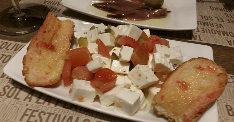 Tapa (Facebook de Ciudad Condal Restaurante)