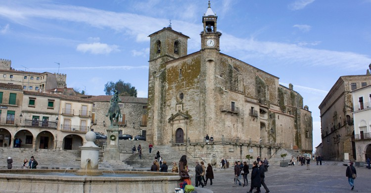 Plaza Mayor de Trujillo, en Cáceres. Antonio Guerra (Flickr)