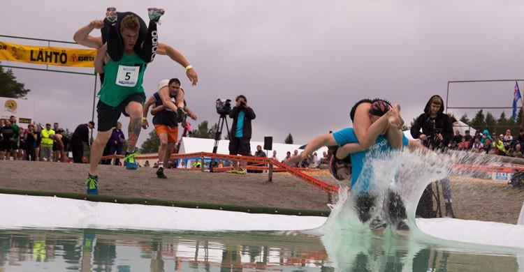 Campeonato del transporte de esposas. Visit Lakeland (Flickr)