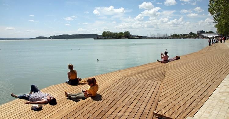 Uno de los miradores del lago Balaton, en Hungría. NR86 Admin (Flickr)