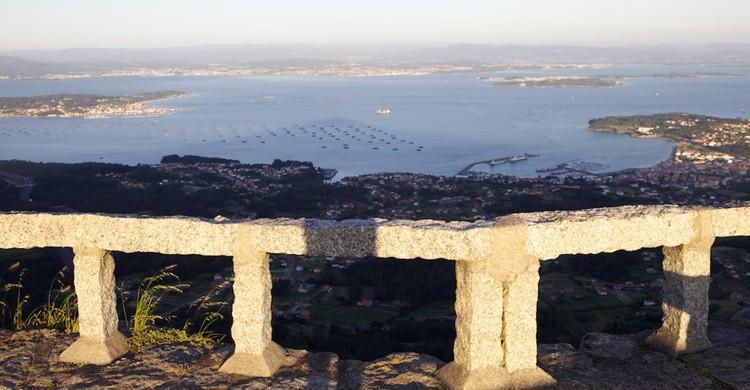 Mirador de A Curota, en Galicia. Tirso Maldonado (Flickr)