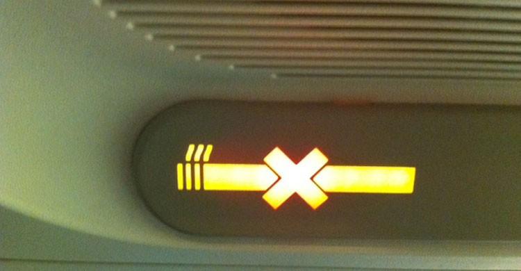 Ya no se fuma en los aviones (Flickr)