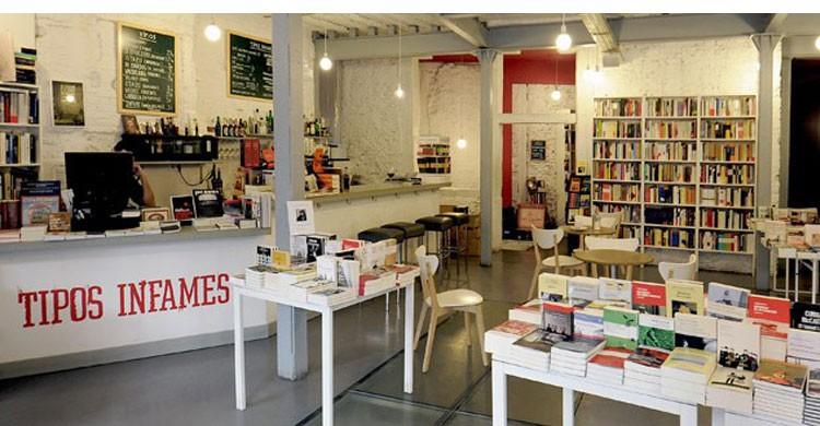 Librería Tipos Infames (Fuente: tiposinfames.com)