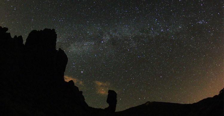 La Vía Láctea desde el Parque Nacional del Teide (Flickr)