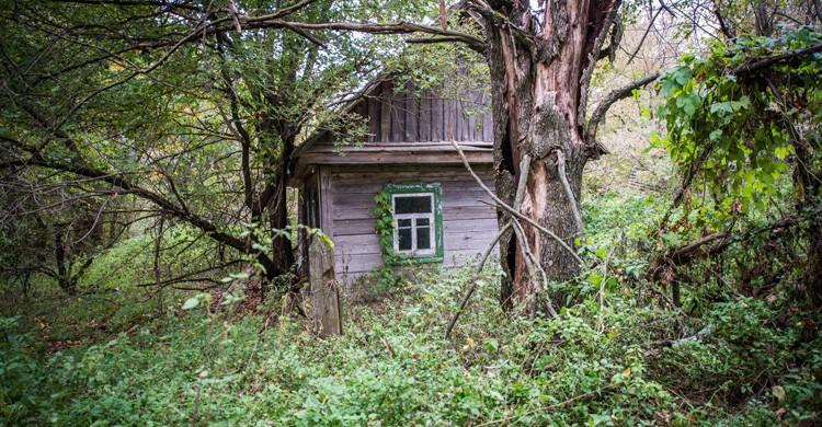 villa en Chernobil (IStock)