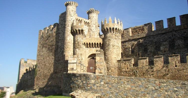Castillo medieval de Ponferrada. José Antonio Gil Martínez (Flickr)