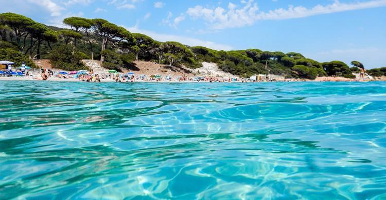 Playa corsa de Palombaggia. Robert Brands (Flickr)