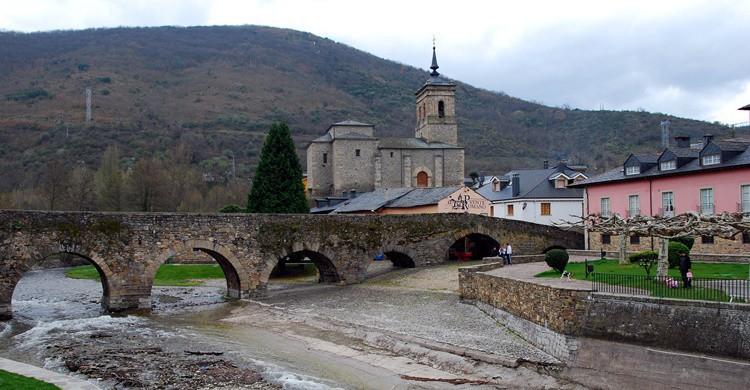 Puente de Molinaseca. Ricardo Samaniego (Flickr)