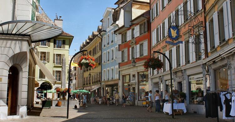 Calle de Vevey. Yola Simon (Flickr)