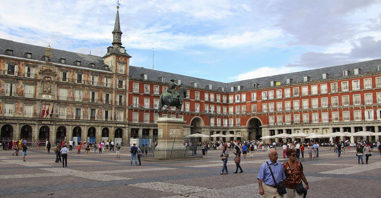 Plaza Mayor de Madrid. Kislez (iStock)
