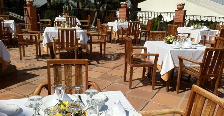 La terraza de La Cañada. Restaurante La Cañada (Facebook)