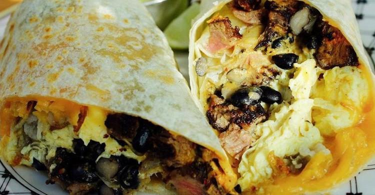 Burrito. México Lindo (www.restaurantemexicolindo.es)