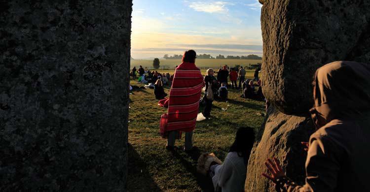 Fiesta del solsticio de verano en Stonehenge, Inglaterra. Lefteris Pitarakis (Gtresonline)