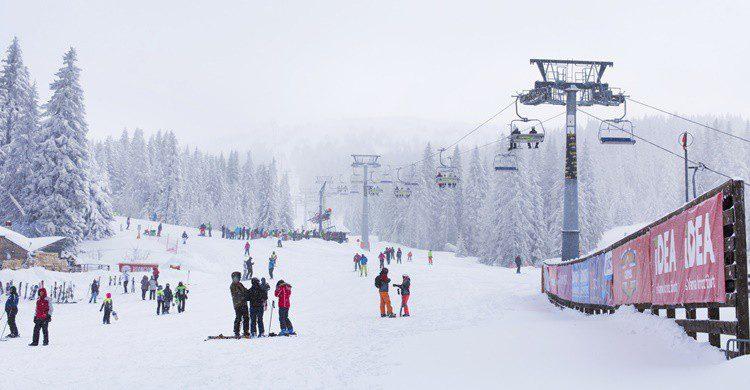 Estación de esquí de Kopaonik. Kisa_Markiza (iStock)