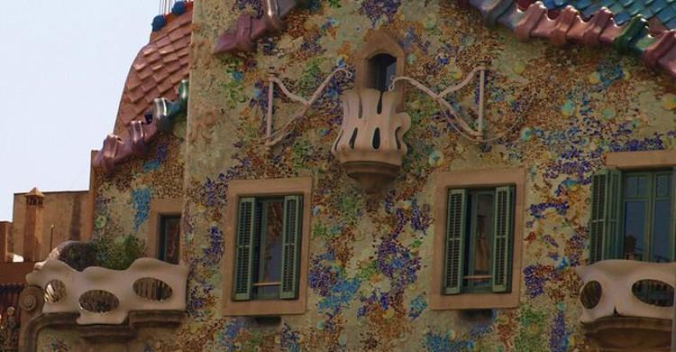 Gaudí es el icono arquitectónico de Barcelona (Flickr)