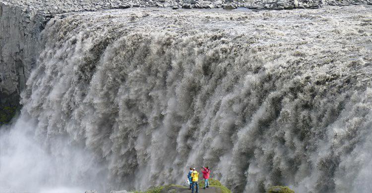 La cascada de Dettifoss (Pixabay)