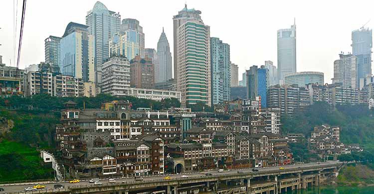 Chongqing, China (sanfamedia.com, Flickr)