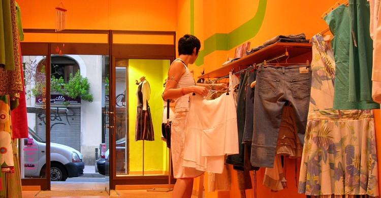 De compras por Barcelona (Flickr)