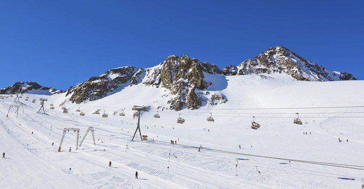 Estación de esquí en Innsbruck. Tpopova (iStock)