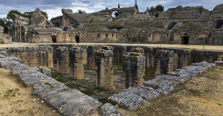 Ruinas de Itálica en Santiponce. Estellez (iStock)