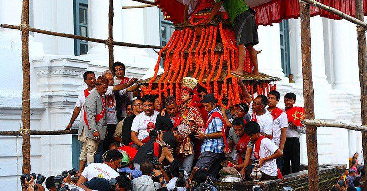 Indra Jatra. bmaharjan (Foter)