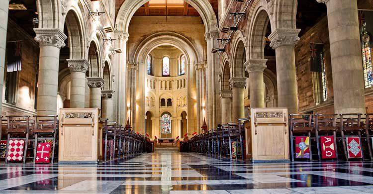 Interior de la catedral de Santa Ana (iStock)