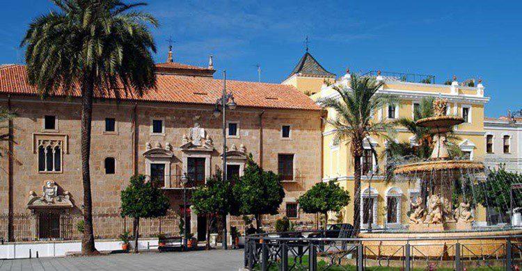 Fachada del hotel de Mérida (http://www.bluebayresorts.com)