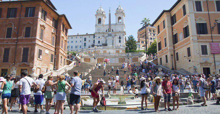 Plaza de España de Roma. Entrechat (iStock)