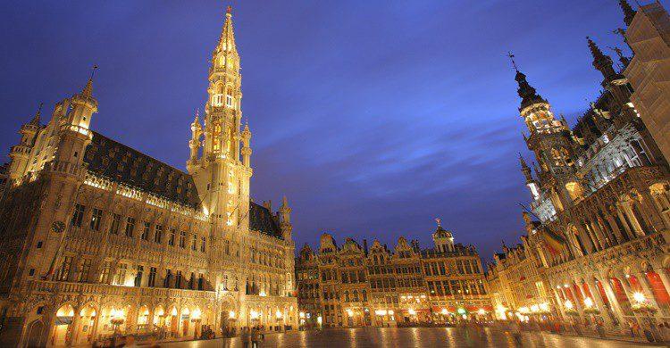 Grand Place de Bruselas. Ljupco (iStock)