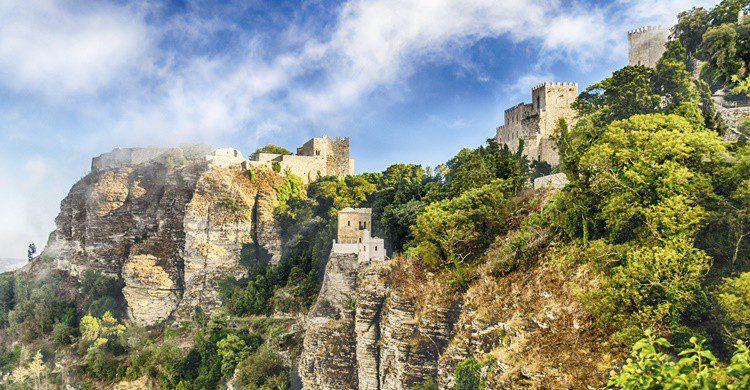 Erice, en Sicilia. Bwzenith (iStock)
