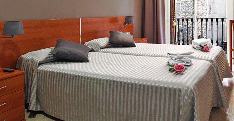 Habitación del Hotel Inglés (http://www.hotelingles.net/index.php/es/hotel-4)