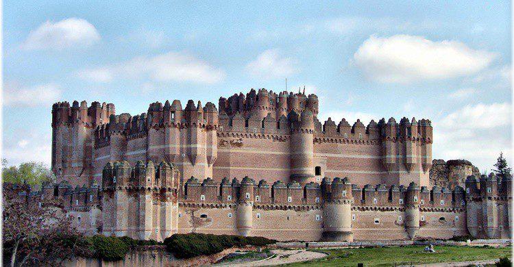 Castillo de Coca. Jose Luis Cernadas Iglesias (Flickr)