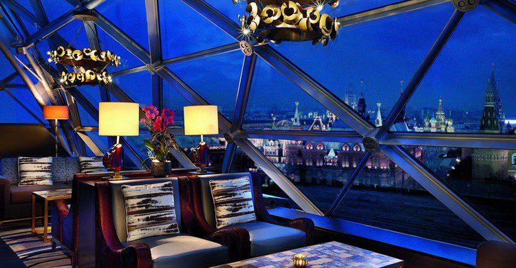 Vistas desde el lounge del hotel (Web de Ritz-Carlton)