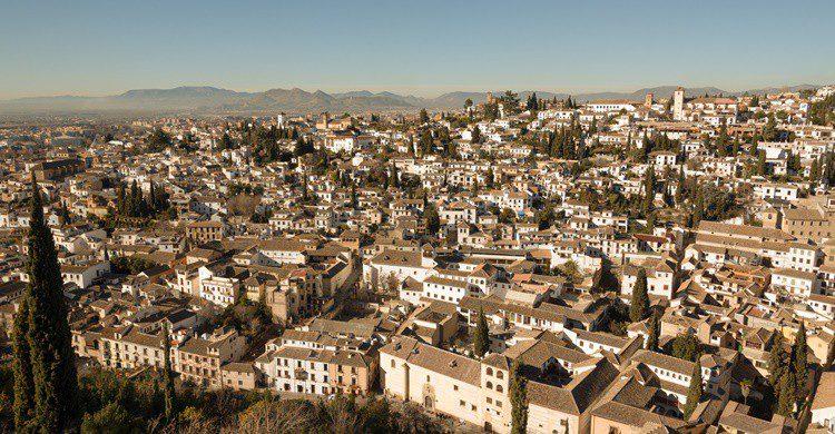 Barrio del Albaicín de Granada. Tashka (iStock)