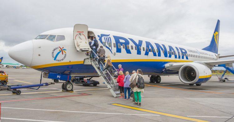 Aviones de Ryanair II (iStock)