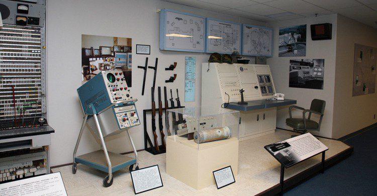 Una de las secciones del museo (Web de The Greebrier)