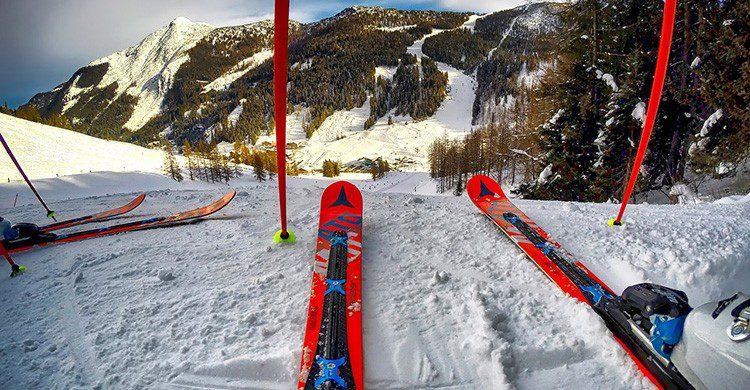 Tener prisa por esquiar (Pixabay)
