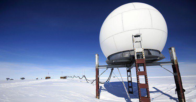 Estación científica en el Polo Sur. Staphy (iStock)
