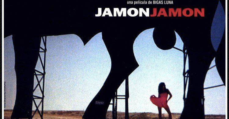 cartel de película Jamón Jamón (Lola Films)