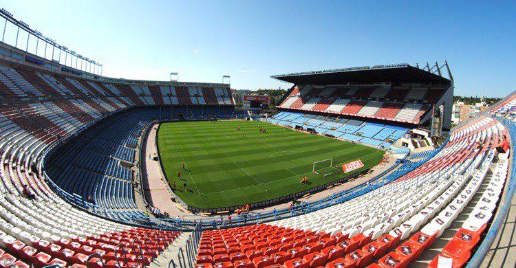 Estadio Vicente Calderón. BruceW. (Flickr)