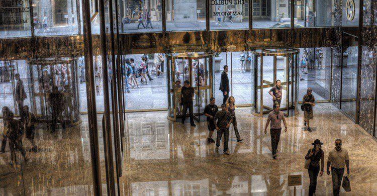 Interior de la Torre Trump. sam chills (Flickr)